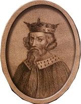 King Alfred portrait